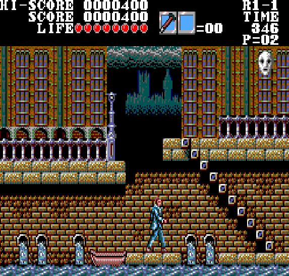 Master of Darkness Sega Master System Xtreme Retro 1