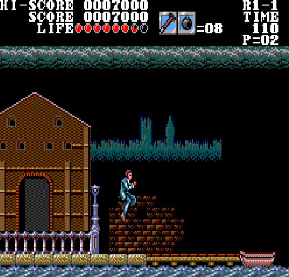 Master of Darkness Sega Master System Xtreme Retro 4
