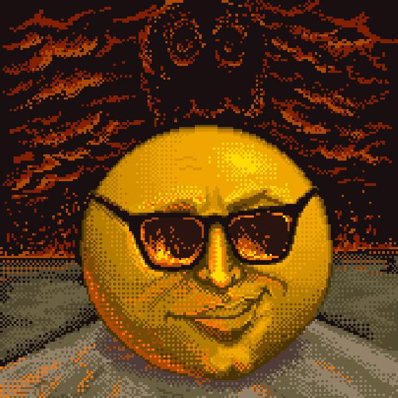 Pac-Man Master System Pixel Art Xtreme Retro Namco