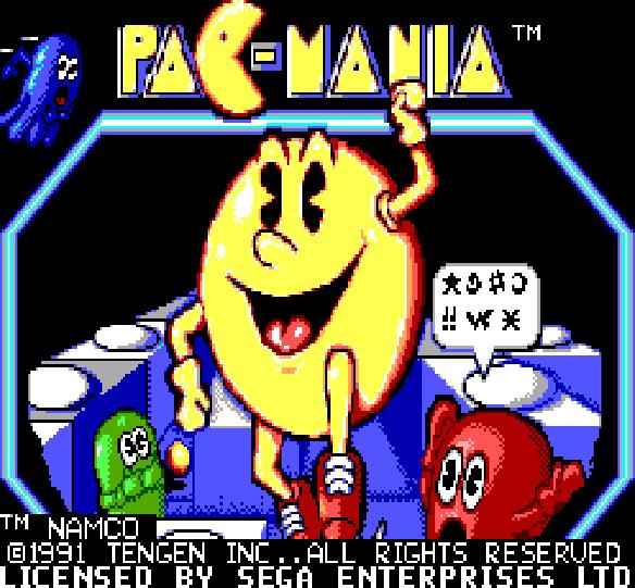 Pac Mania Sega Master System Xtreme Retro 5