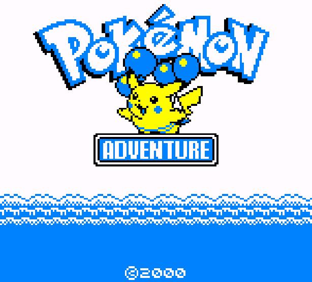 Pokemon Adventure Hack Game Boy Color Nintendo Xtreme Retro 1