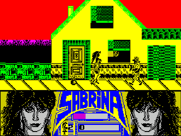 Sabrina ZX Spectrum Xtreme Retro 2