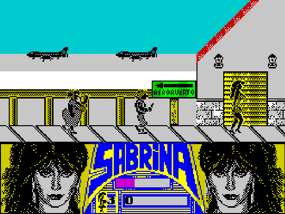 Sabrina ZX Spectrum Xtreme Retro