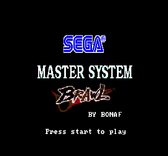 Sega Master System Brawl Mega Drive Xtreme Retro 1