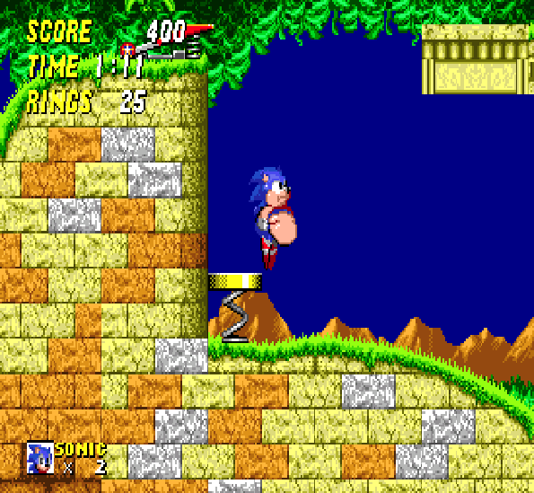 Sonic 2 XL Sega Mega Drive Genesis Xtreme Retro 11