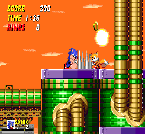 Sonic 2 XL Sega Mega Drive Genesis Xtreme Retro 3