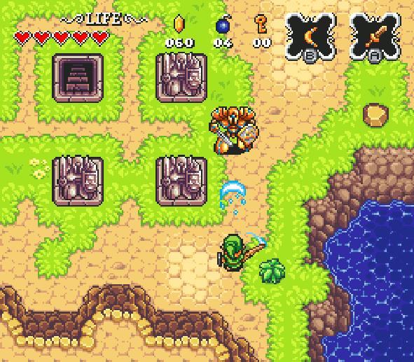 The Legend of Zelda A Link to the Past Super Nintendo Pixel Art Xtreme Retro 6