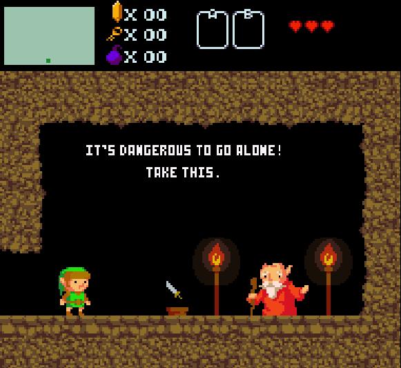 The Legend of Zelda NES Famicom Nintendo Pixel Art 8 bits Xtreme Retro