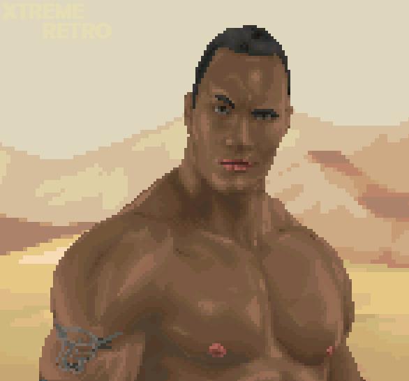 The Scorpion King Pixel Art Xtreme Retro Game Boy Advance