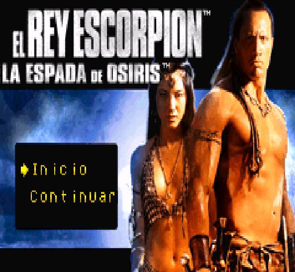 The Scorpion King Sword of Osiris GBA Xtreme Retro 1