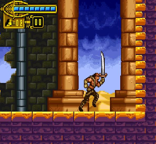 The Scorpion King Sword of Osiris GBA Xtreme Retro 8
