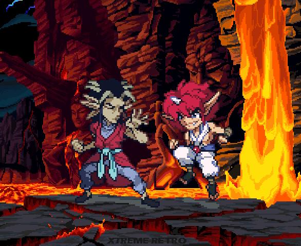 Yu Yu Hakusho Sega Genesis Mega Drive Treasure Pixel Art Xtreme Retro 1