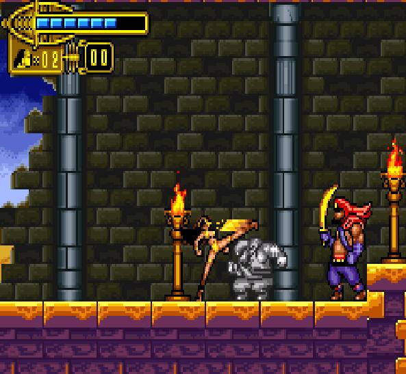 the Scorpion King Sword of Osiris GBA Xtreme Retro 2