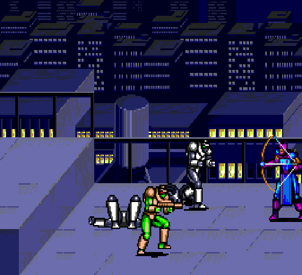 Captain America and the Avengers Hawkeye Sega Genesis Arcade Xtreme Retro 4