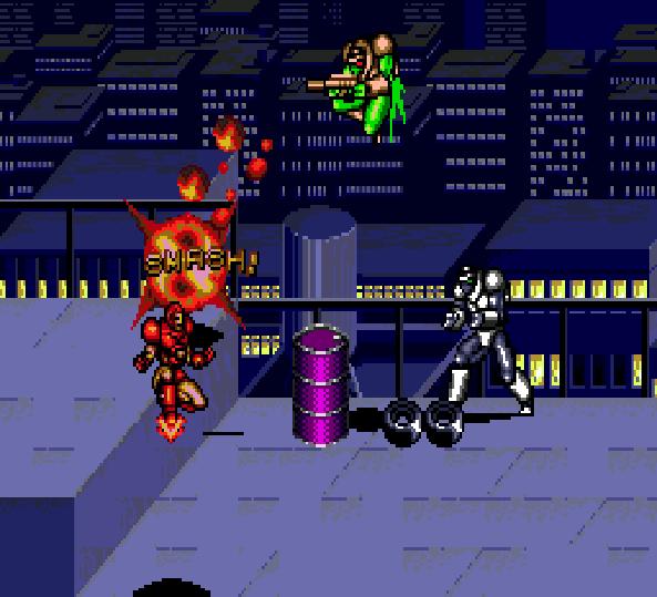 Captain America and the Avengers Ironman Sega Genesis Arcade Xtreme Retro 2