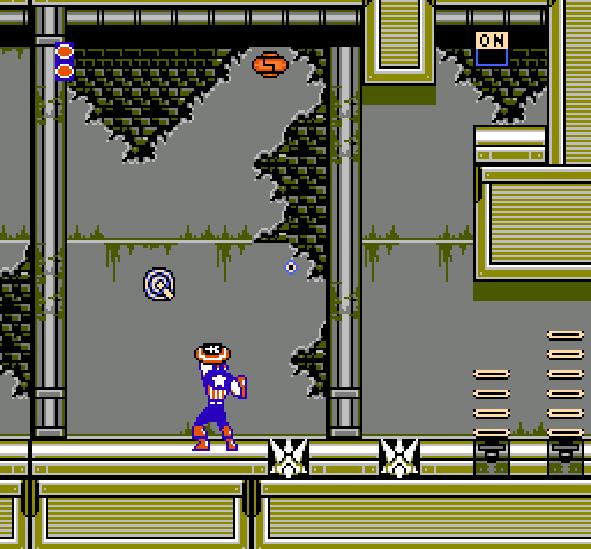 Captain America and the Avengers NES Famicom Xtreme Retro 1