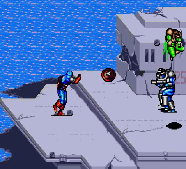 Captain America and the Avengers Sega Genesis Arcade Xtreme Retro 1