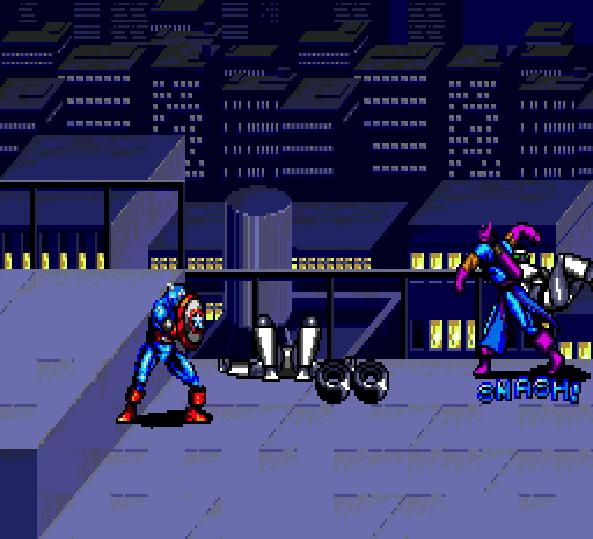 Captain America and the Avengers Two Players Mode Sega Genesis Arcade Xtreme Retro 5