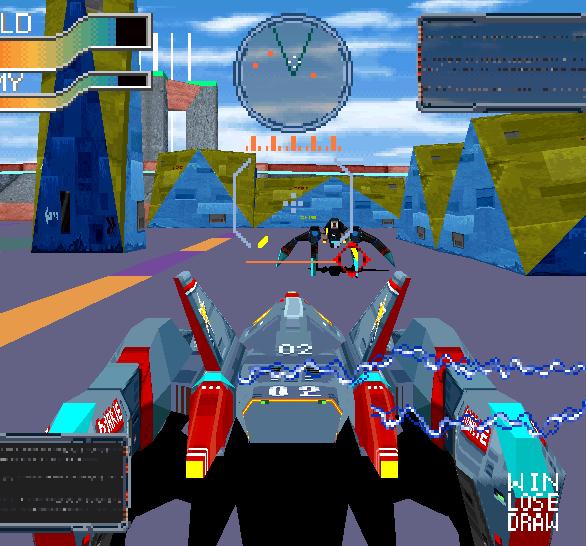 Cyber Sled Namco Arcade PlayStation Xtreme Retro 1