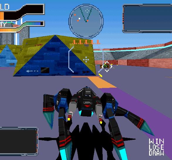 Cyber Sled Namco Arcade PlayStation Xtreme Retro 4