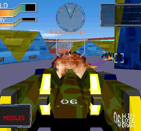 Cyber Sled Namco Arcade PlayStation Xtreme Retro 6