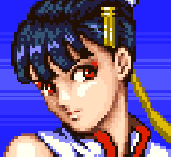 Dead or Alive Lei Fang Pixel Art Xtreme Retro