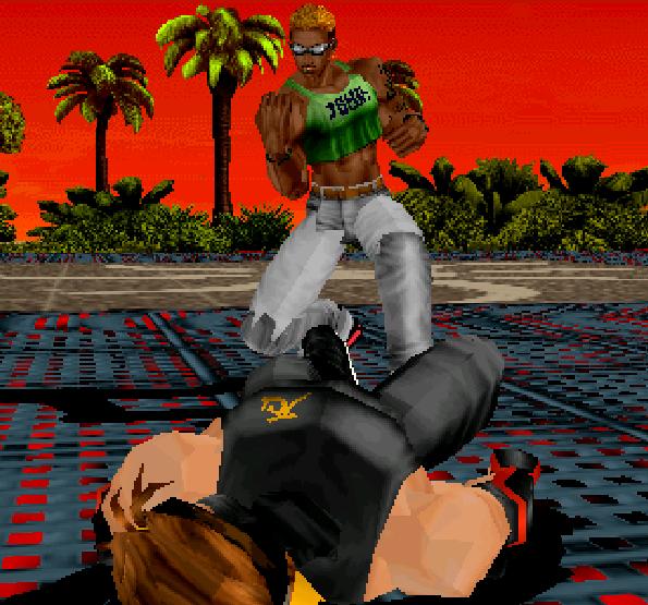 Dead or Alive Tecmo Sega Model 2 Xtreme Retro 2