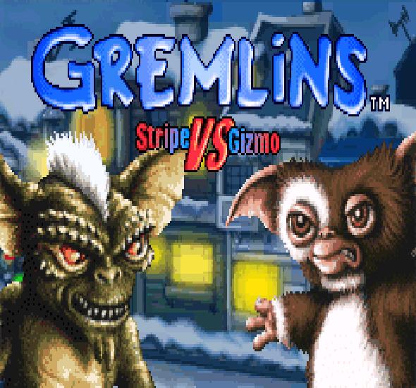 Gremlins Stripe VS Gizmo GBA Xtreme Retro 1
