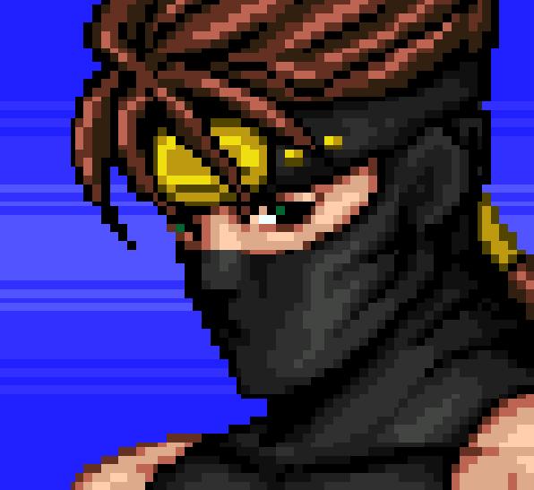 Ninja Gaiden Ryu Hayabusa Pixel Art Tecmo XBOX PS3 Pixel Art Xtreme Retro