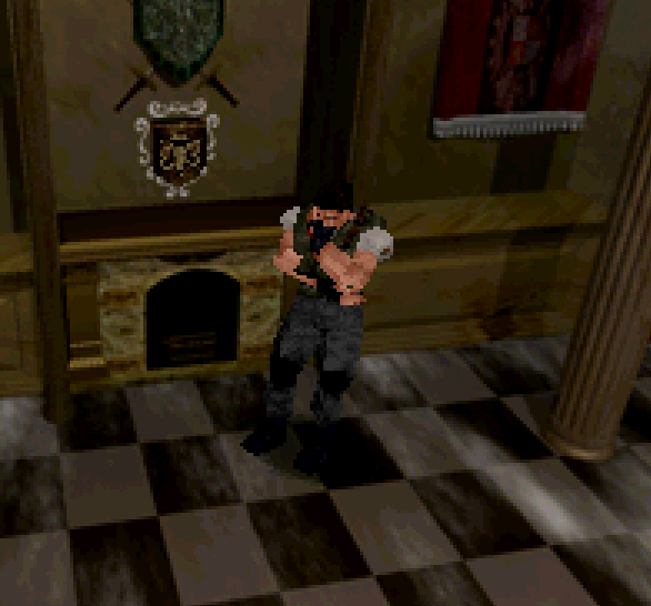 Resident Evil Sega Saturn Capcom Xtreme Retro 1