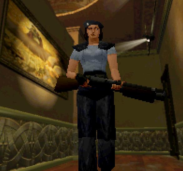 Resident Evil Sega Saturn Capcom Xtreme Retro 16