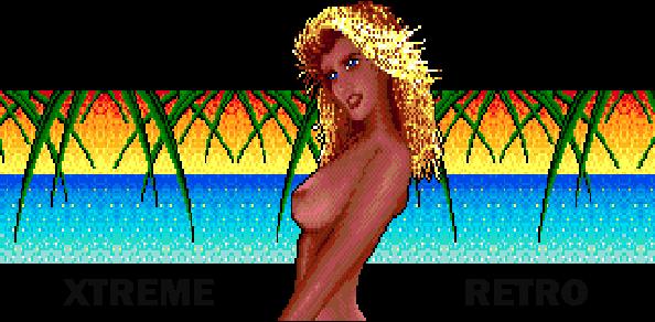 Rings of Power Electronic Arts Naughty Dog Sega Genesis Mega Drive Nude Girl Pixel Art Xtreme Retro