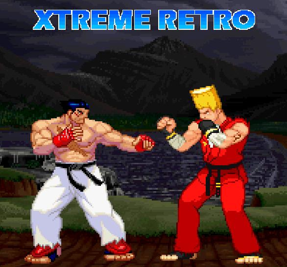 Tekken 1 Pixel Art 2D PlayStation Arcade Namco Kazuya VS Paul Xtreme Retro 1