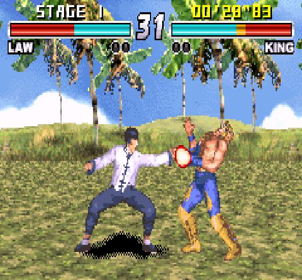 Tekken Advance GBA Xtreme Retro 3