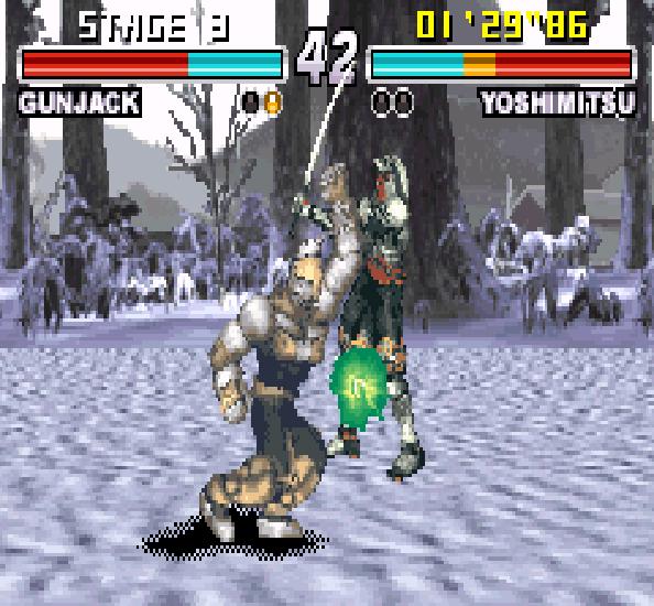 Tekken Advance GBA Xtreme Retro 5