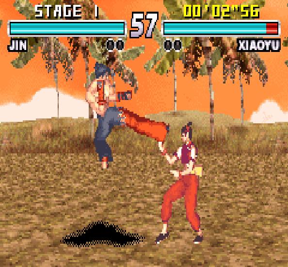Tekken Advance GBA Xtreme Retro 7