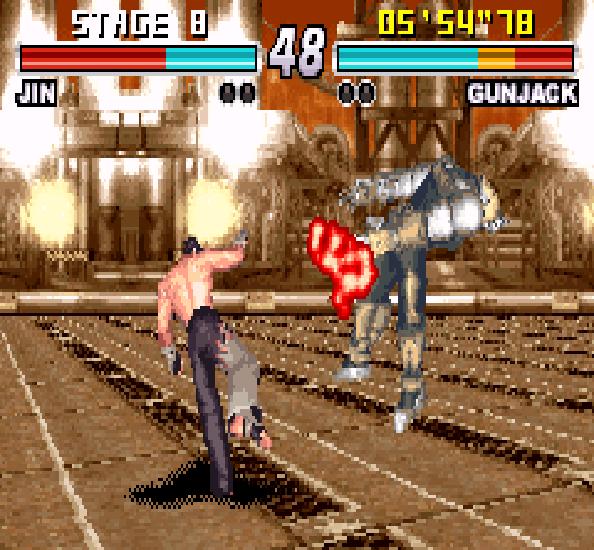 Tekken Advance GBA Xtreme Retro 8