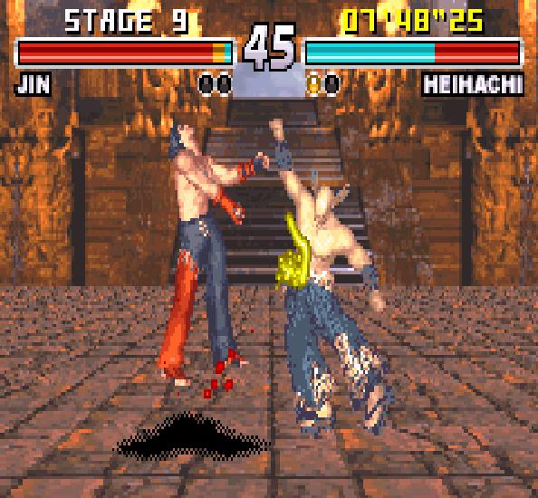 Tekken Advance GBA Xtreme Retro 9