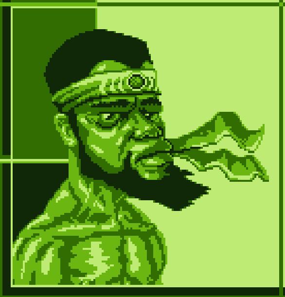 Black Game Boy Pixel Art Xtreme Retro