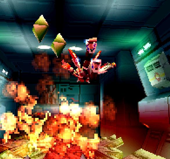 Burning Rangers Sonic Team Sega Saturn Xtreme Retro 1