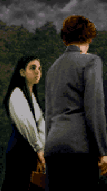 Clock Tower Human Survival Horror Pixel Art Xtreme Retro