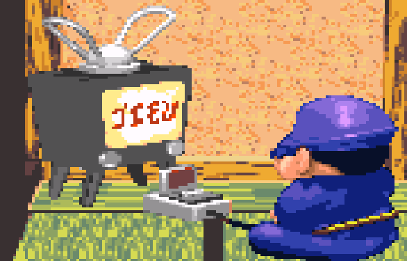Konami Goemon Ebisumaru Super Famicom SNES Pixel Art Xtreme Retro