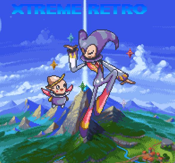 Nights into Dreams Sonic Team Sega Saturn Game Boy Advance Pixel Art Xtreme Retro