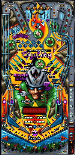 Pinball 2D Pixel Art Xtreme Retro Arcade