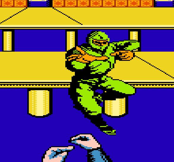 Sega Shinobi NES Famicom Bonus Stage Xtreme Retro 5