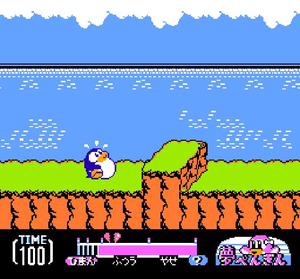 Yume Penguin Monogatari NES Famicom Pixel Art Xtreme Retro 1