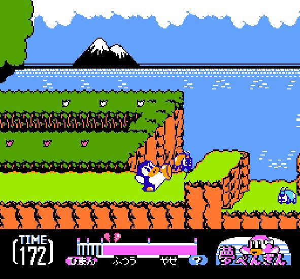Yume Penguin Monogatari NES Famicom Pixel Art Xtreme Retro 2
