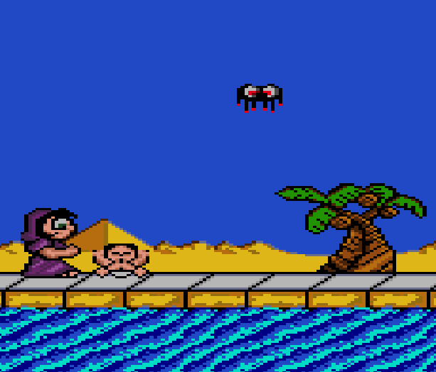 Bible Adventures Baby Moses Sega Genesis Mega Drive Xtreme Retro