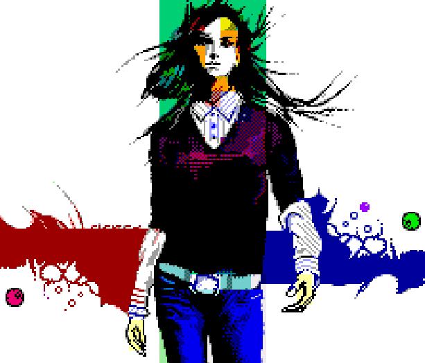 Blue Jeans Pixel Art Xtreme Retro