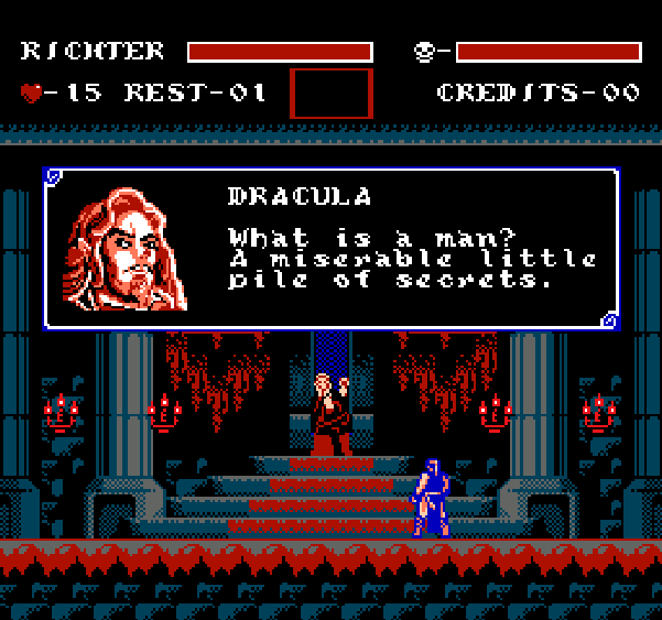 Castlevania Symphony of the Night Konami NES Pixel Art Xtreme Retro 1